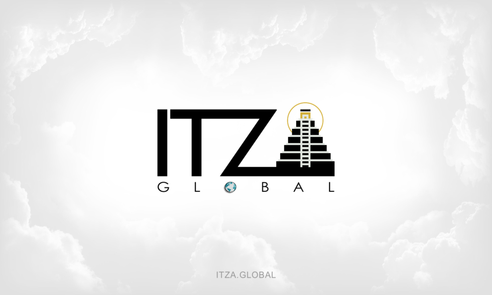 ITZA Global Background - Clouds Logo